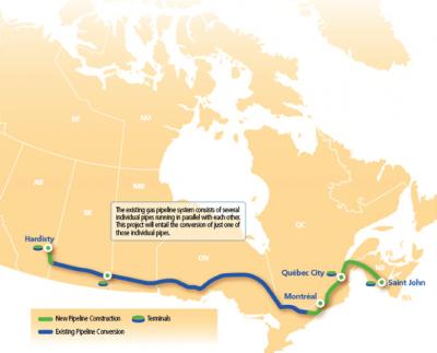 Oil Tranport Map