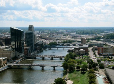 Grand Rapids from River House