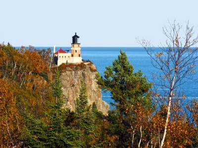 Split Rock Lighthouse: Lake Superior, MN